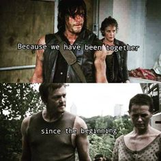 This is so true. But when with Daryl dies  (which he does) Carol is going to be heart broken.