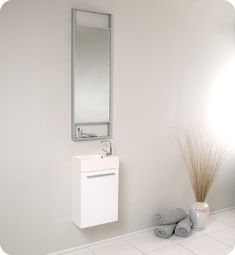 Narrow Bathroom Vanities with 8-18 Inches of Depth