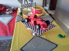 Ferrari F1 birthday cake Ferrari F1, 3d Cakes, Birthday Cake, Homemade, Furniture, Home Decor, Decoration Home, Home Made, Room Decor