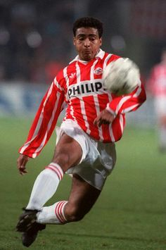 Romario of PSV Eindhoven in 1988.