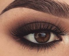 Beauty Makeup, Eye Makeup, Makeup Obsession, Dream Hair, Smokey Eye, Eyelashes, Make Up, Eyes, Bmx