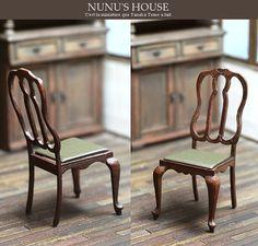 *椅子1号* - *Nunu's HouseのミニチュアBlog*           1/12サイズのミニチュアの食べ物、雑貨などの制作blogです。