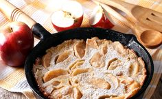 Panqueca suíça de maçã. Receita: http://receitasua.com/receita/panqueca-suica-de-maca  Gostou? Clique em curtir, compartilhe e comente para que mais pessoas possam conhecer esta receita 😊