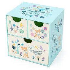 Sanrio Japan Hummingmint Storage Box Drawer Case