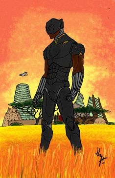 KING OF WAKANDA by JohannLacrosaz.deviantart.com on @DeviantArt