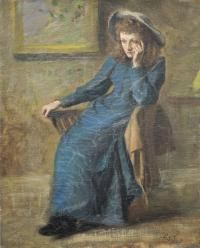 Portrait of Eva Gore-Booth painted by her sister, Countess Markievicz. Contemporary History, Women In History, Family History, Irish Art, Middle Ages, Love Art, Renaissance, Sisters, American
