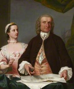 Isaac Ware (1704–1766), and His Daughter Mary