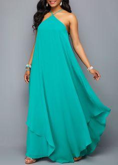 Special Dresses, Short Dresses, Summer Dresses, Latest African Fashion Dresses, Women's Fashion Dresses, Easter Dresses For Women, Turquoise Fashion, Backless Maxi Dresses, Chiffon Dresses