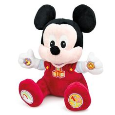 Disney Baby - Baby Mickey Play and Learn Mickey Mouse Clubhouse, Minnie Mouse, Cute Songs, Baby Mickey, Educational Toys, Toddler Outfits, Pet Toys, Baby Gifts, Plush