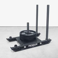 The Rogue Dog Sled is the next evolution of the power sled—compact, powerful, and versatile enough for push, pull and speed training on almost any surface. Gym Gear, Fitness Gear, Mens Fitness, Health Fitness, Crossfit Equipment, Sports Equipment, No Equipment Workout, Sled Workout, Workout Gear