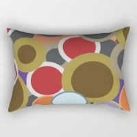 Abstract VII Rectangular Pillow