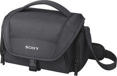 Sony - Camera Case - Black, LCSU21