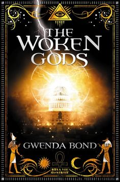 Title: The Woken Gods Author: Gwenda Bond Publisher: Strange Chemistry, 2013 Seventeen-year-old Kyra Locke's world is very differen. Late For School, Fantasy Books To Read, Reading Projects, Sci Fi Novels, Best Book Covers, Chemistry, The Book, Bond, Mythology
