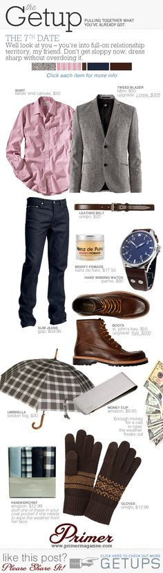 Blazer w/ jeans! The Getup: The 7th Date | Primer