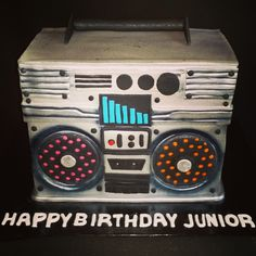 Birthday Cakes - Boom box