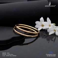 Kadli Kadli Bangles jewellery for Women by jewelegance. ✔ Certified Hallmark Premium Gold Jewellery At Best Price Gold Chain Design, Gold Bangles Design, Gold Earrings Designs, Gold Jewellery Design, Ear Jewelry, Gold Jewelry, Jewelery, Women Jewelry, Bangle Set