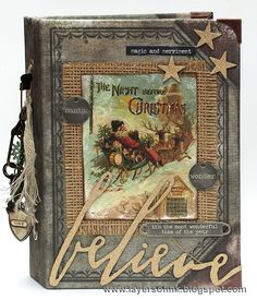 Layers of ink - December Daily Journal by Anna-Karin Evaldsson. Made for Simon Says Stamp Monday Challenge, using products by Tim Holtz, Sizzix, and Ranger. Inspired by the idea of Ali Edwards to document the month of December.
