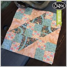 Sizzix Quilting Tutorial | Jacobs Ladder by Linda Nitzen