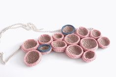 crochet necklace Crochet Necklace, Jewellery, Jewels, Crochet Collar, Jewelry Shop, Jewerly, Jewlery