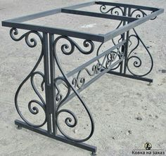 Metal table – metal of life Wrought Iron Decor, Wrought Iron Gates, Iron Furniture, Steel Furniture, Iron Gate Design, Window Grill Design, Iron Table, Steel Doors, Decoration