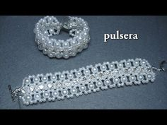 DIY – Pulsera con brillantes parte DIY – Bracelet with brilliants part – Macrame 2020 Beaded Necklace Patterns, Bracelet Patterns, Bracelet Tutorial, Diy Bracelet, Seed Bead Jewelry, Crystal Jewelry, Ankle Bracelets, Jewelry Bracelets, Jewelry Crafts
