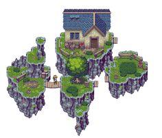 RPG Tileset: Green Forest by ~Kiwinuptuo on deviantART