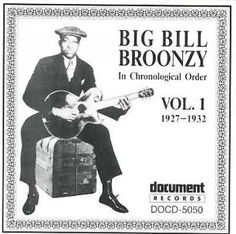 This collection contains 26 tracks. This is a particularly fascinating CD, for it has the first 26 selections ever recorded by Big Bill Broonzy as a leader. The beginning of Document's complete reissu