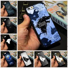 Stark Jon Snow White Wolf Logo The Game Of Thrones phone case cover for iPhone 7 4 5 6 plus - ismart-x Easter Games For Kids, Birthday Games For Kids, Samsung Galaxy Smartphone, Samsung Cases, Cell Phone Covers, Mobile Phone Cases, Jon Snow Wolf, Jon Snow White, Iphone 7