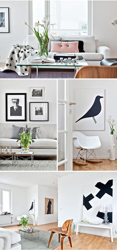 Via Trendenser | Eames | HAY | Pia Wallen | White and Wood