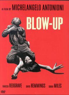 """Blow Up - Michelangelo Antonioni  """"incita a uma discussão sobre a representação da realidade pela fotografia"""""""