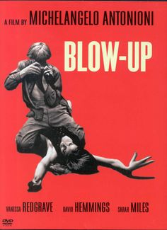 Blow-Up movie poster 1967 RED