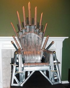 For die-hard fans, HBO sells a quite expensive replica of the Iron throne, but you can always go DIY if you wish to be the King of the Seven Kingdoms for less. Choose your throne.