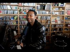 John Legend - Made To Love / Move / All Of Me (live at NPR Music Tiny Desk Concert)