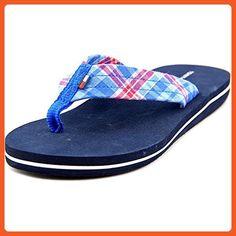 e0c643d632ff Tommy Hilfiger Womens Conica Open Toe Beach Flip Flops