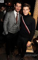 London Collections 2013 ~ David Gandy with Oliver Cheshire