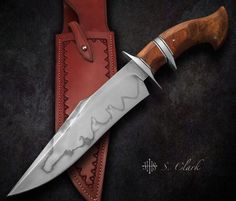 S. CLARK Custom Knives