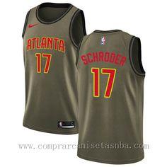 ... Dennis Schroder Atlanta Hawks 2018 Marca  nike Equipos  Atlanta Hawks  Jugador  Dennis Schroder Adecuado para  Hombre Estilo  camisetas nba 2017  2018 c43f22782be7e