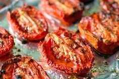 Oven-Roasted Tomatoes by Michelle Tam http://nomnompaleo.com