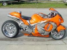 Orange and Silver Busa