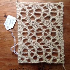 Étude no. 2 - Stepping Stones (free stitch pattern)