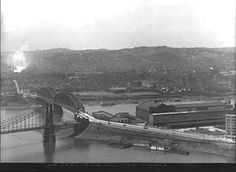 On This Day in Pittsburgh History: August 9, 1915 The new Manchester Bridge, connecting the Point with the North Side, was ready for traffic. [Historic Pittsburgh]