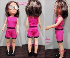 Las cucadas de Carlota y sus muñecas: Patrón Nancy: Conjunto pantalón short y camiseta t...