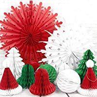 Pack 18 acrylique Candy Canes 13 cm Décoration de Noël arbre ornements Rouge//Vert