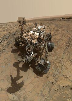 O robô da NASA, Mars Curiosity, está tirando fotos de algo diferente de tudo que…