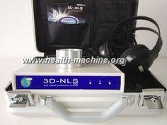 awesome 에너지 컵을 가진 3D NLS 인체 건강 해석기 치료 처리