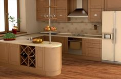BuildDirect – Laminate - 12mm Ancient Spice Collection – Fennel - Kitchen View