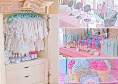 A spa party... would love to do this for Avah when she is a little older.