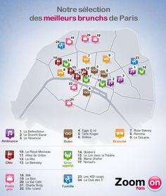 """Où """"bruncher"""" à Paris ?"""