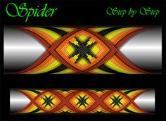 Spider Cross Wrap Pattern step by step Custom Rod Building Cross Wrap Pattern Facebook Page