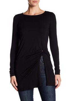 Long Sleeve Twist Tunic by Karen Kane on @nordstrom_rack